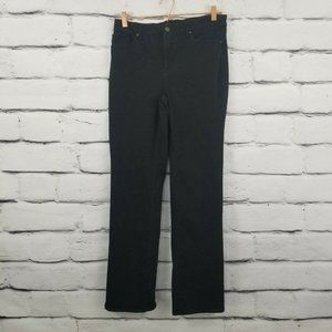Chico's So Lifting Straight Leg Black Stretch Jean